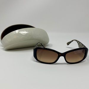 Coach Sunglasses S2009 Tortoise with Case